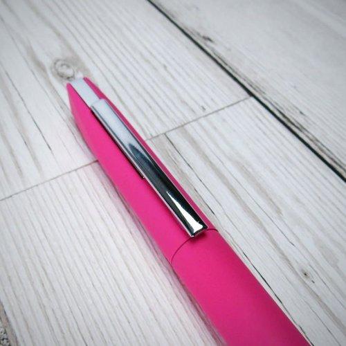 goodeehoo Bolígrafo twist action rosa en caja de regalo 016
