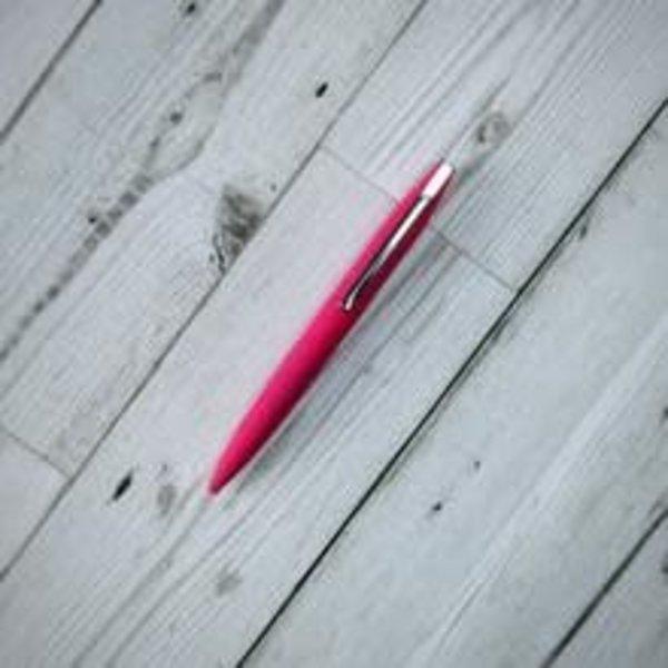 Twist Action Kugelschreiber rosa in Geschenkbox 016