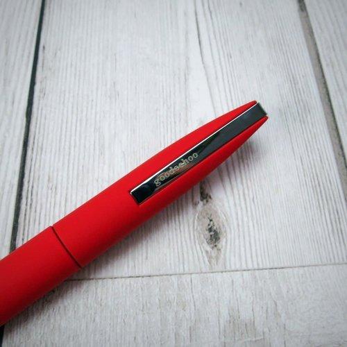 goodeehoo Bolígrafo twist action rojo en tubo de regalo 018