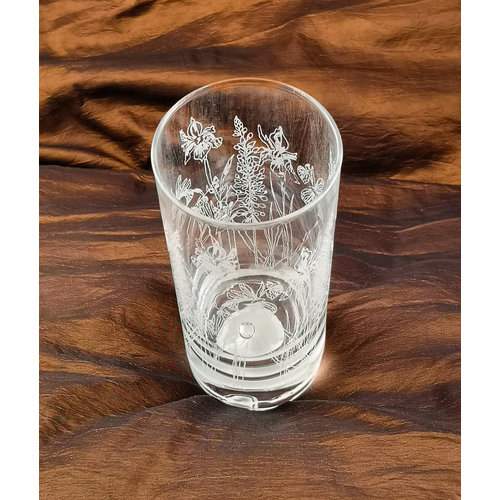 Emma Britton Floral Hi Ball Glass 001