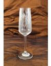 Blumenflöte Tischglas 005