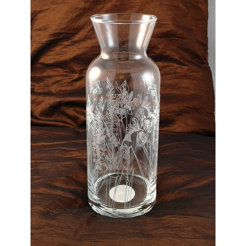 Emma Britton Floral Caraffe Table  Glass 006