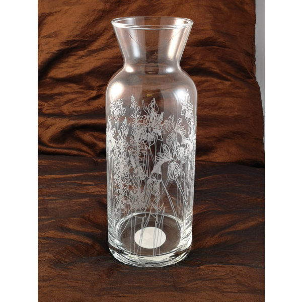 Floral Caraffe Table Glass 006