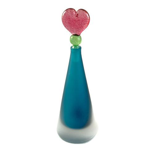Bob Crooks Konisches Blau mit Herzstopper-Duftflasche 027