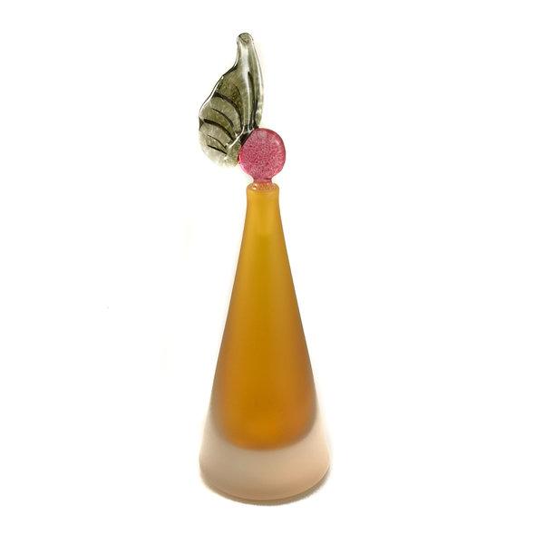 Frasco cónico de oro con aroma 026