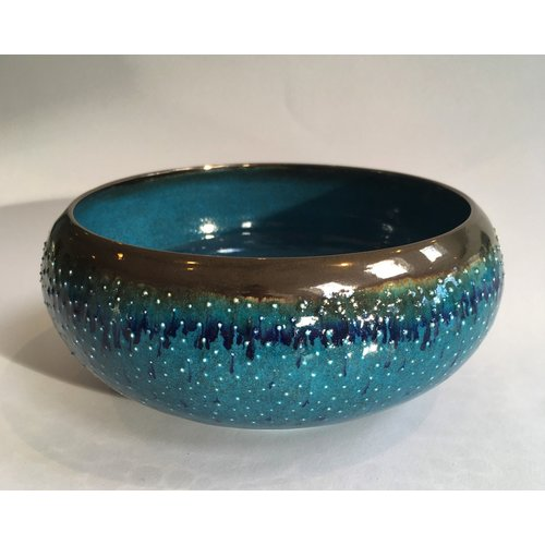 Gabi Komar-Dixon Rain wheel thrown earthenware bowl 02