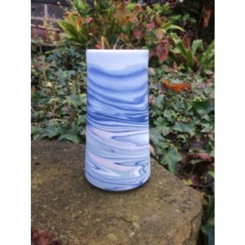 Gary Thomas Agate Bud Vase porcelain 03