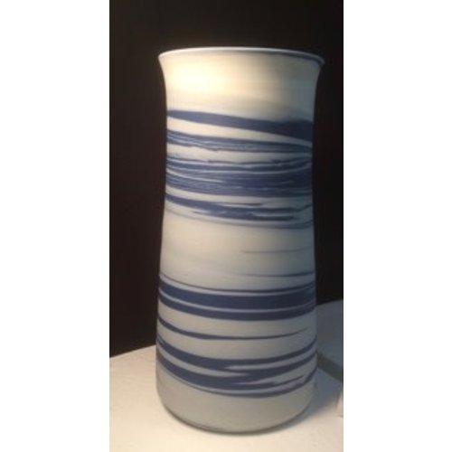 Gary Thomas Agate Cylinder Vessel porcelain 01