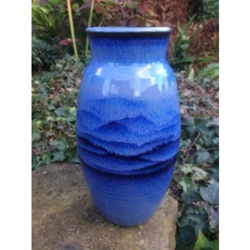 Gary Thomas Blaue Vase Steinzeug 02