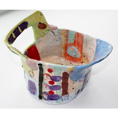 John Cook Ceramics Coloured Bucket 005