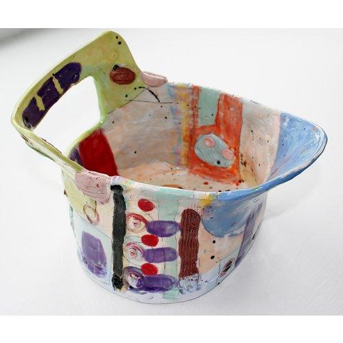 John Cook Ceramics Farbiger Eimer 005