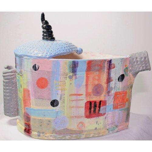 John Cook Ceramics Blaue Oberseite 006