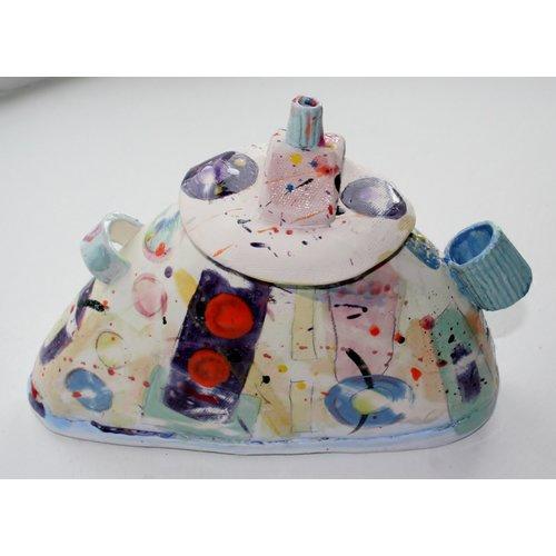 John Cook Ceramics Rosa Deckel 007