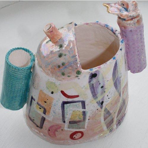 John Cook Ceramics Farbiger Auslauf 009