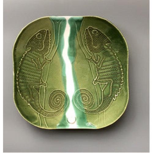 Su Hudson Double Chameleon Plate - ceramic 05