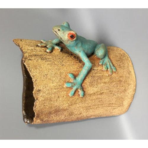 Su Hudson Red Eyed Tree Frog ceramic 01