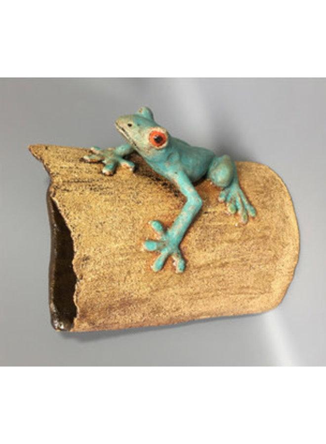 Red Eyed Tree Frog ceramic 01