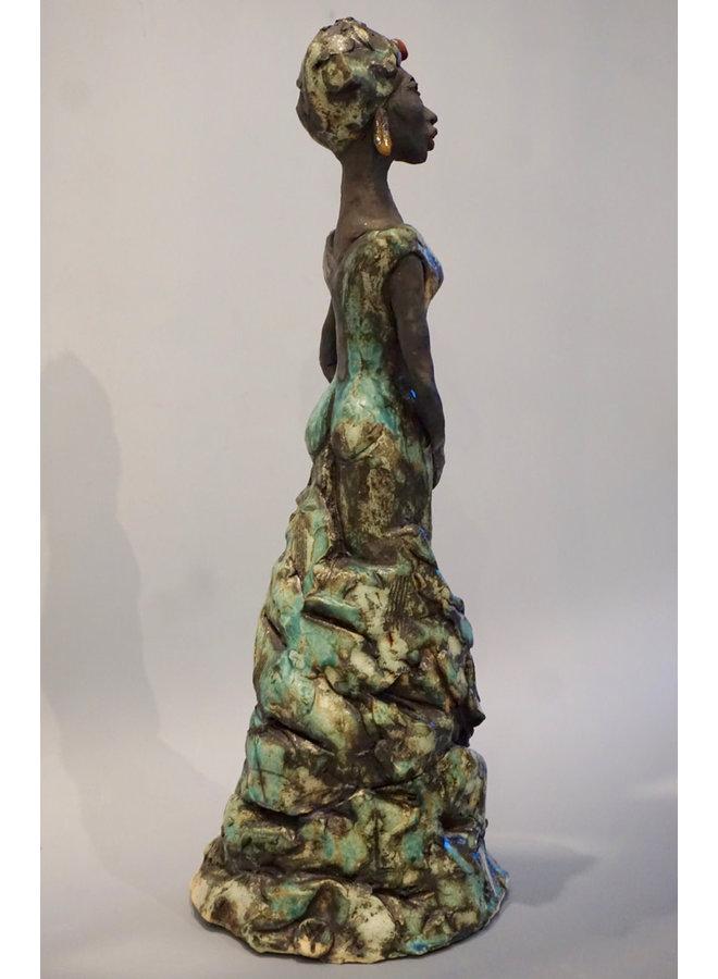 African Lady Steinzeug 01