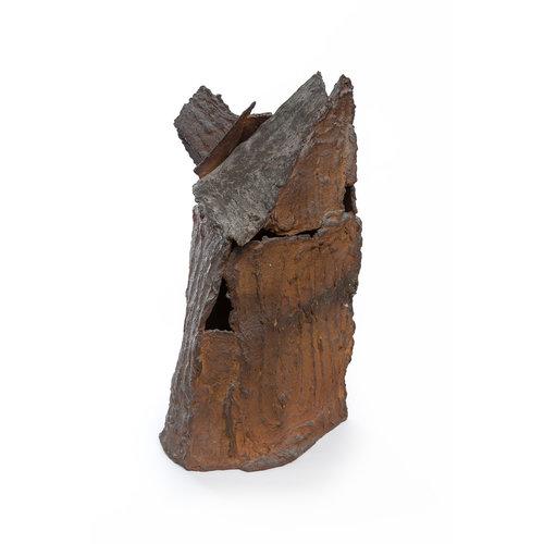 Brian Holland Auf Liatach 1 wurde Steinzeug 01 aus Holz gebrannt