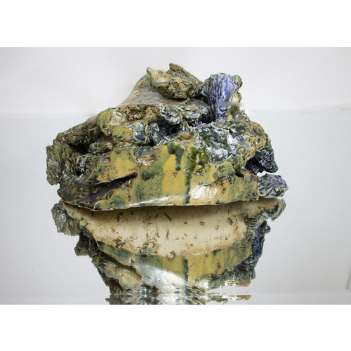 Brian Holland Volcanic Rockpool electric fired stoneware 03