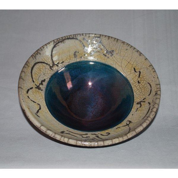 Raku Bowl en pedestal 02