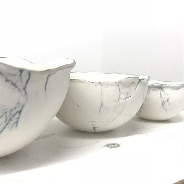 Feather Bowl Trio, porcelain and platinum 02