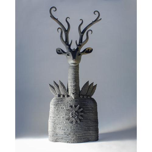 Drew Caines Black Stag stoneware 03