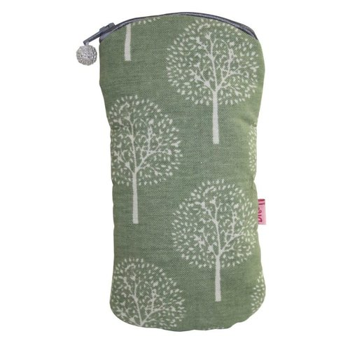 LUA Gafas con cremallera caja algodón morera oliva 127