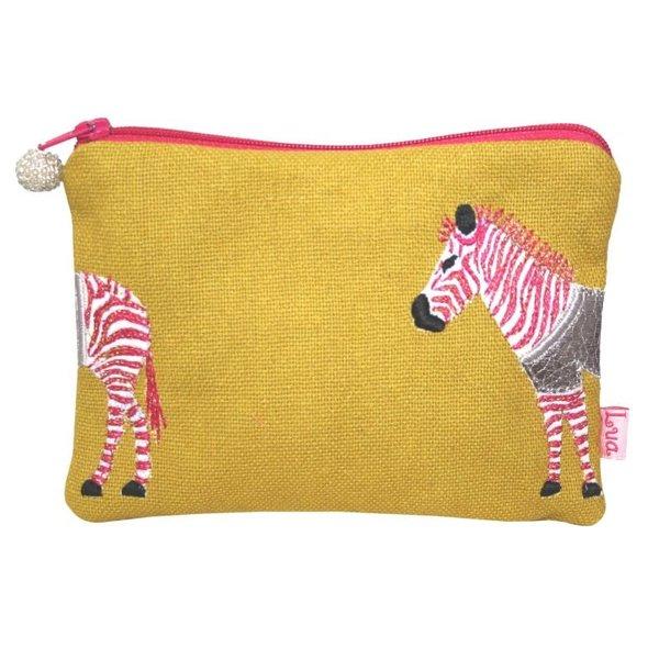 Zebra Münz-Reißverschlusstasche Citrus 105
