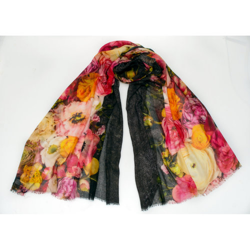 P J Studio Bellini Silk and Model Scarf   012