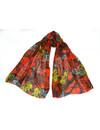 Jewel Butterfl seda y modelo bufanda llama 012