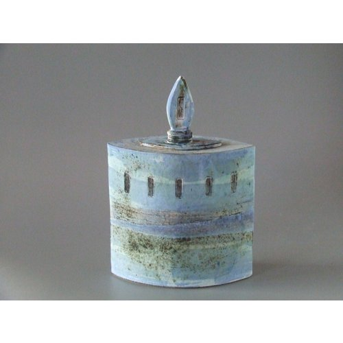 Dianne Cross Misty Blue Shore lidded box 01