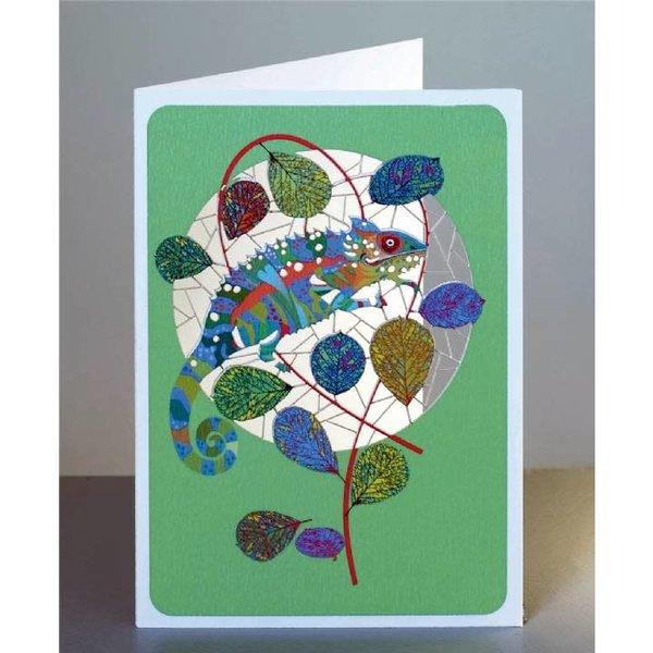 Chameleon Lazer cut card