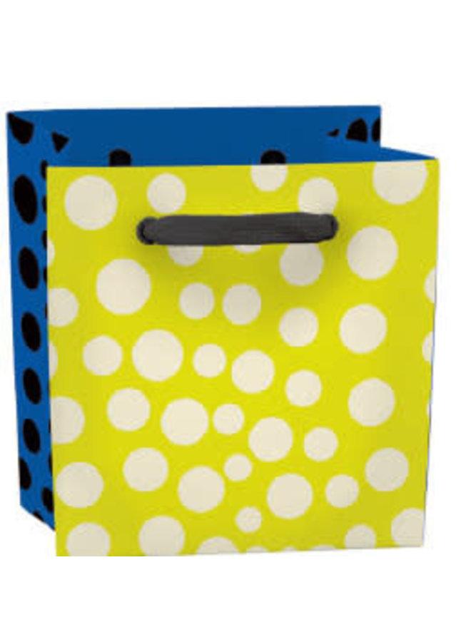 Dotty Mini Bag - Bandgriff und Etikett