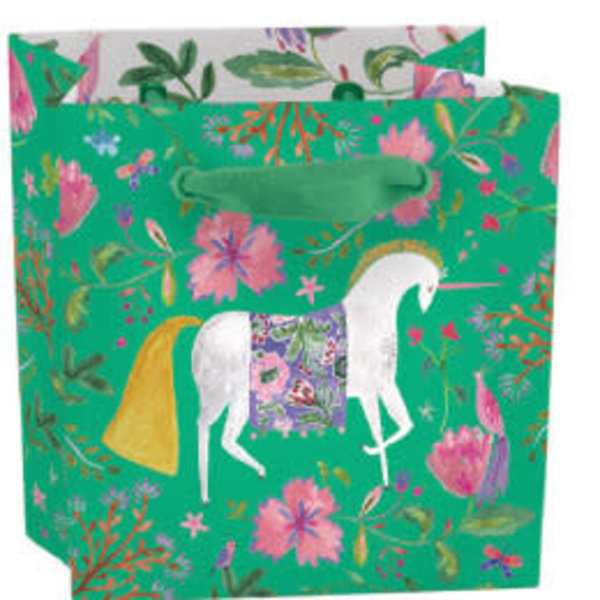 Magical Unicorn mini bag - ribon handle and label