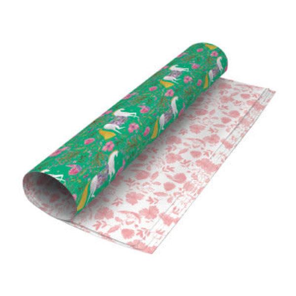 Magical Unicorn reversable gift wrap