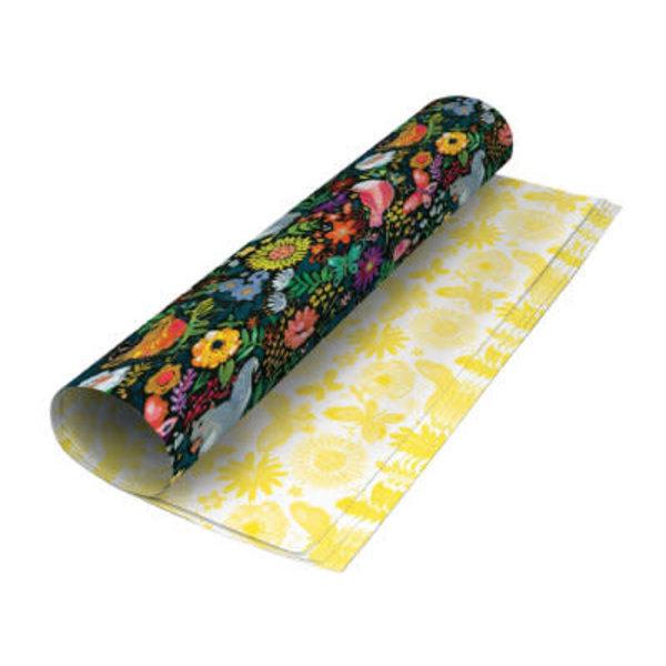 Wild Batik reversable gift wrap