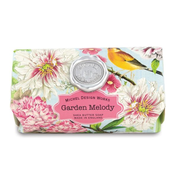 Garden Melody Large Bath Shea Soap Bar