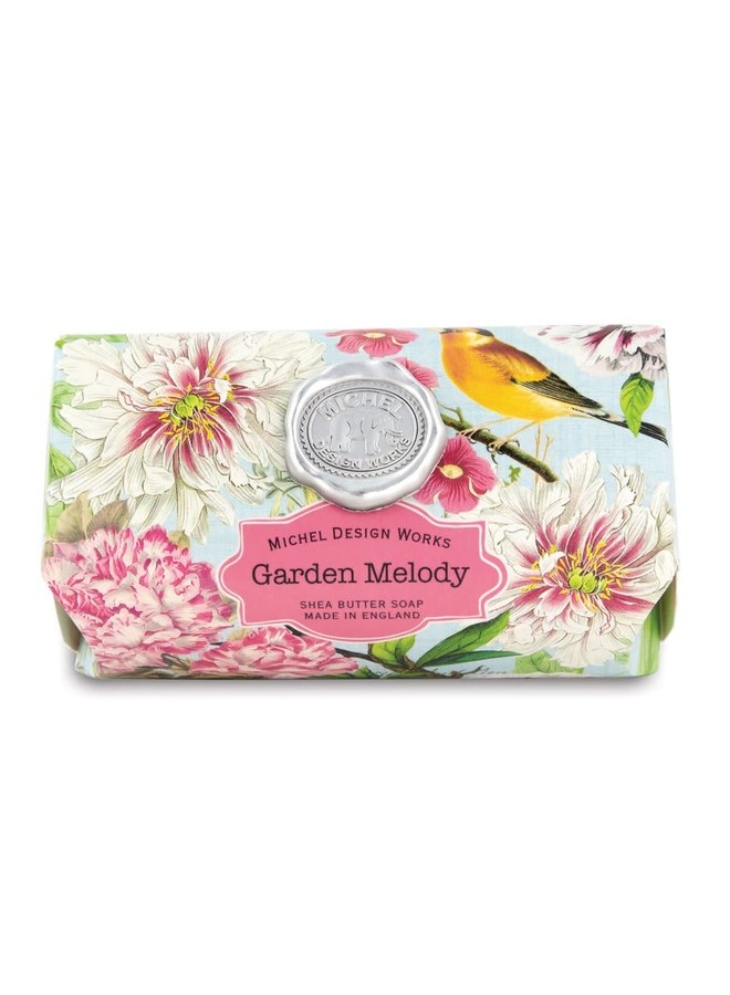 Garden Melody Große Bad Shea Seife