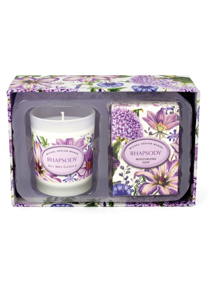 Rhapsody Candle and Soap Gift Set