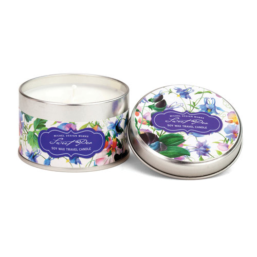 Michel Design Works Sweet Pea Travel Candle