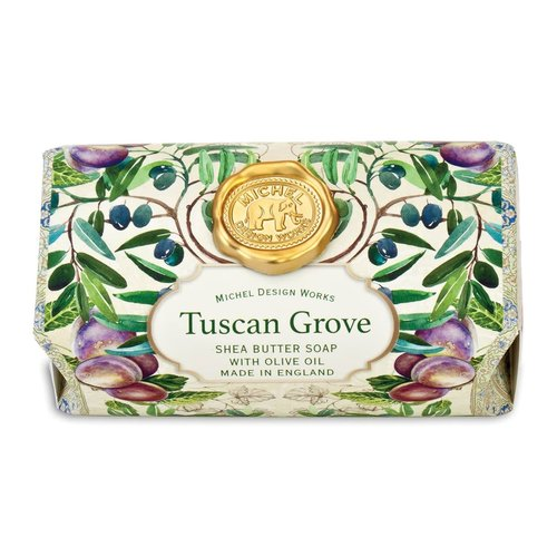 Michel Design Works Tuscan  Grove Large Bath Shea Soap Bar