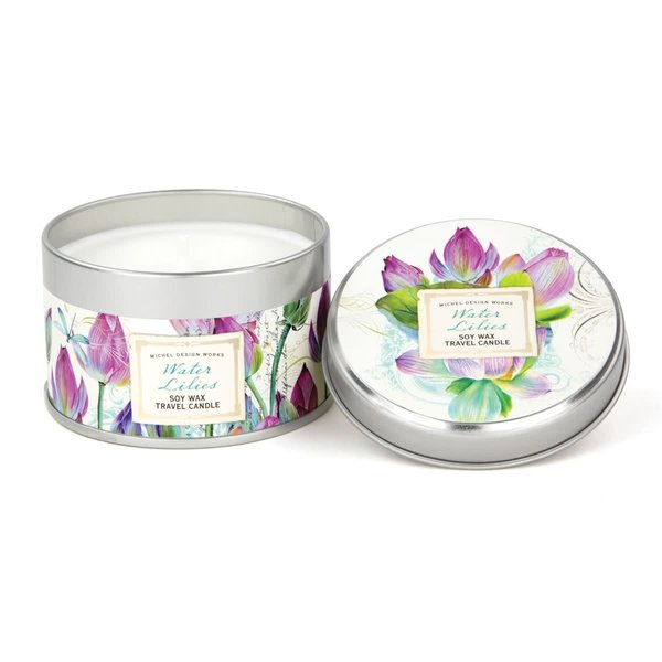 Water Lily Travel Candle
