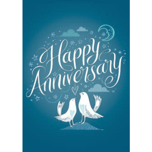 Roger La  Borde Happy Anniversary Card