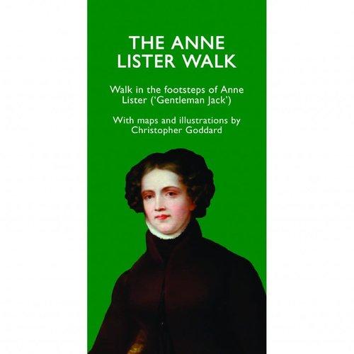 Christopher Goddard Die Anne Lister Walk Map