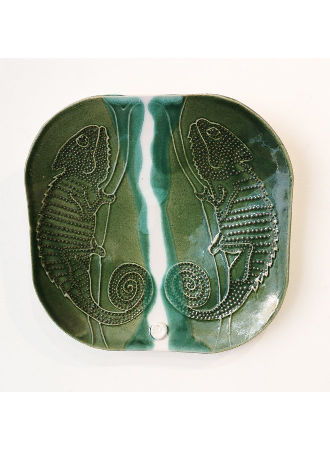 Chamelean plate double etched 11