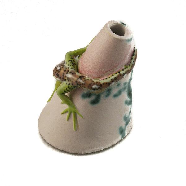 Posy Pot con lagarto de arena 23