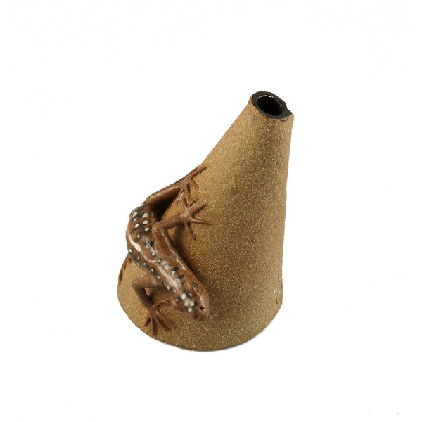 Posy Pot with Sand Lizard  24