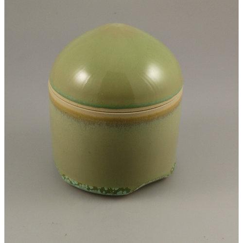 Gary Thomas Dome lidded cylinder pot stoneware 07