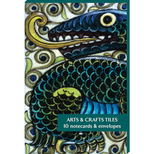 Fitzwilliam Museum Arts and Craft Tiles  10 Notecard Pack